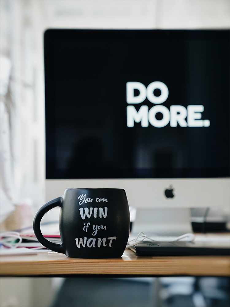 Do more! You can win if you want to!