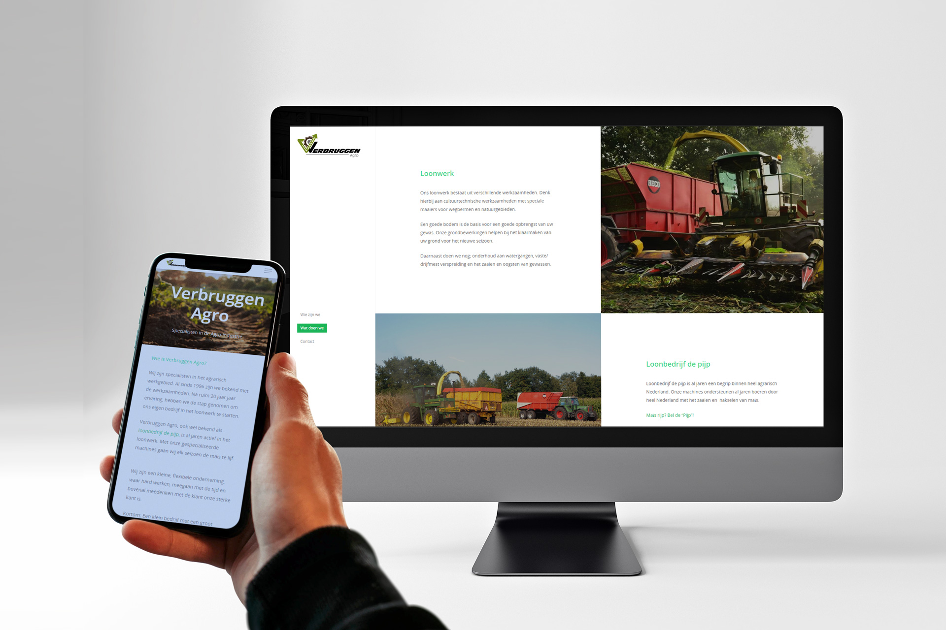 Verbruggen Agro Website